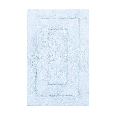 Kassadesign Bath Rugs Size: 20 H x 32 W, Color: Robins Egg Blue