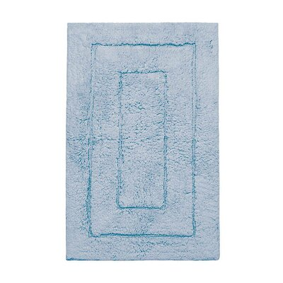 Kassadesign Bath Rugs Color: Smoke Blue, Size: 24 H x 40 W