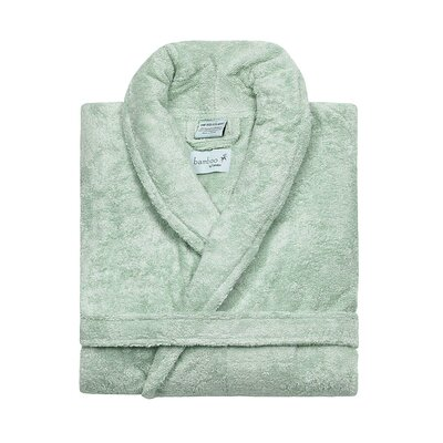 Bamboo Rayon Bathrobe Color: Rain