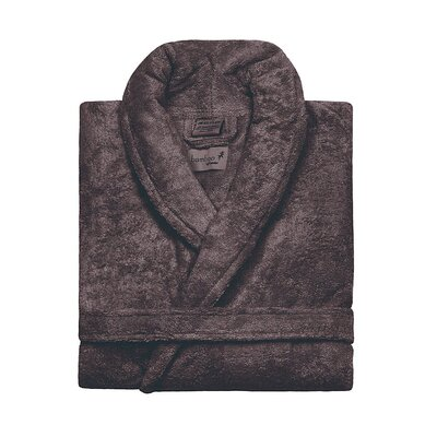 Bamboo Rayon Bathrobe Color: Coffee