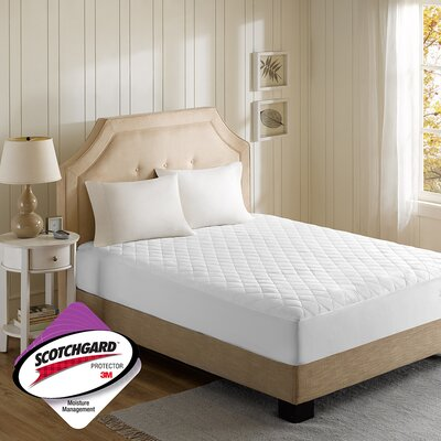 Polyester Heated Mattress Pad Size: King