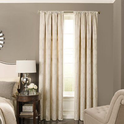 Odette Blackout Single Curtain Panel