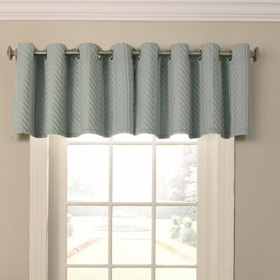 Malbrouk Blackout Grommet Curtain Valance Color: Spa
