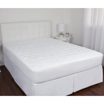 Flexotech 1 Polyester Mattress Pad Size: Queen