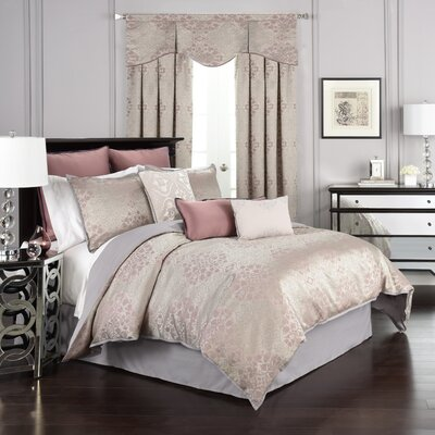 La Salle 4 Piece Comforter Set Size: King