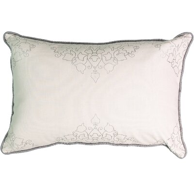 La Salle Foil Print 100% Cotton Lumbar Pillow