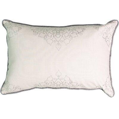 La Salle Foil Print 100% Cotton Lumbar Pillow