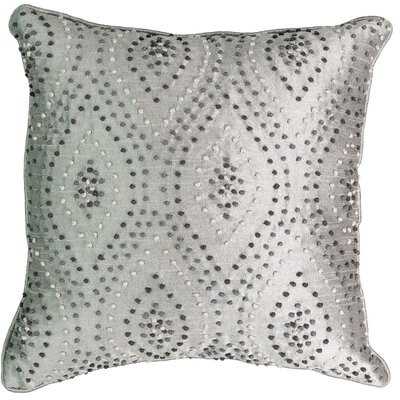 Chacenay Knotted Embroidered Polyester Throw Pillow