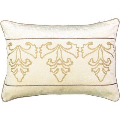 Sandrine Faux Velvet Lumbar Pillow