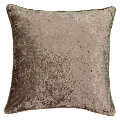 Sandrine Faux Velvet Throw Pillow