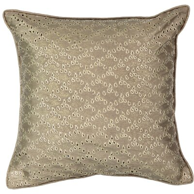 Sandrine Eyelet Throw Pillow