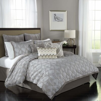 Social Call 4 Piece Comforter Set Size: Queen