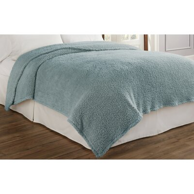 Cosette Ultra Soft Blanket Size: King, Color: Robins Egg Blue