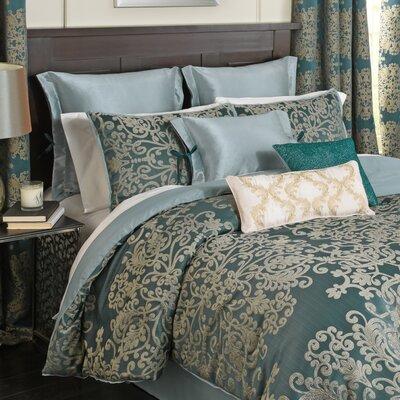 Alexina 4 Piece Reversible Comforter Set Size: Queen