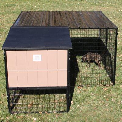 Castle Run Kennel Size: 8 x 8