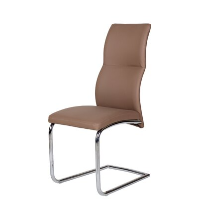 Side Chair Upholstery: Chocolate