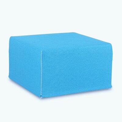Ottoman Upholstery: Aqua Blue