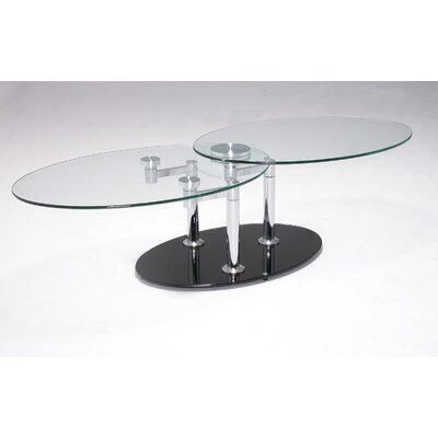 Furniture Living Room Furniture Coffee Table Glass Swivel Coffee Table