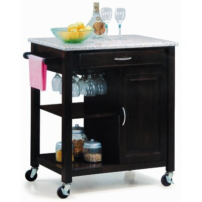 Cheap New Spec New Spec Minibar-01 Mini Kitchen Cart in Walnut (NEI1173)