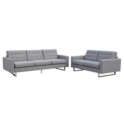 Beneva 2 Piece Living Room Set