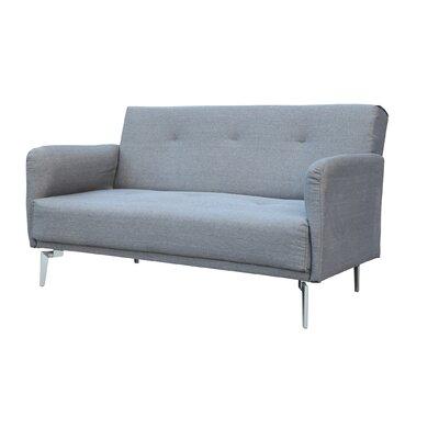 Capetown Loveseat Upholstery: Grey