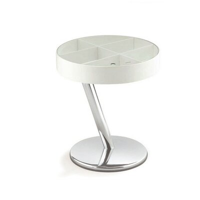 Enta-25 End Table Color: White