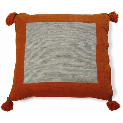 Nature Aroma Cotton Throw Pillow Color: Orange