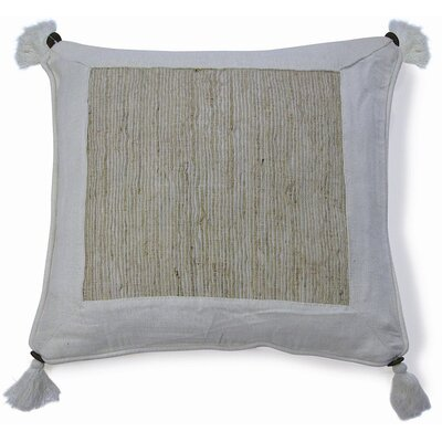 Nature Aroma Cotton Throw Pillow Color: Beige