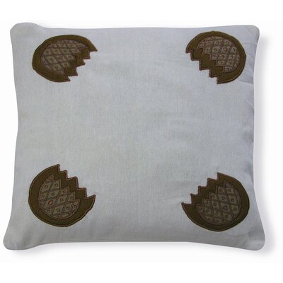 Embroidery Pamego Cotton Throw Pillow
