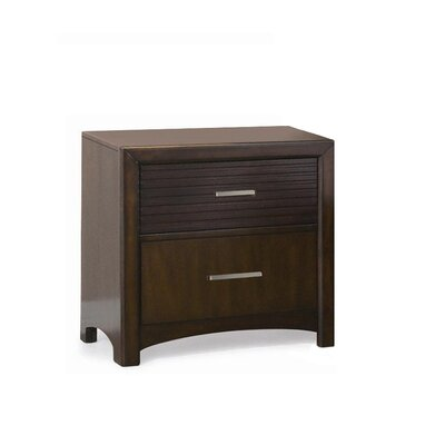 Edison 2 Drawer Nightstand 516002BN