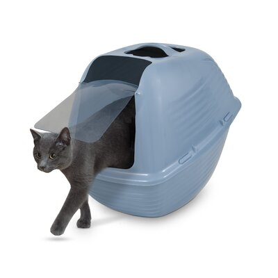 Mindy Standard Litter Box Size: Small (11.9 H x 16.2 W x 22.6 L)