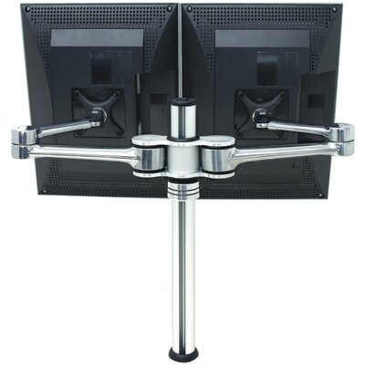 Visidec Focus Heigh Adjustable 2 Screen Desk Mount