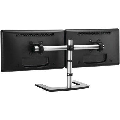 Visidec Freestanding Horizontal 2 Screen Desk Mount