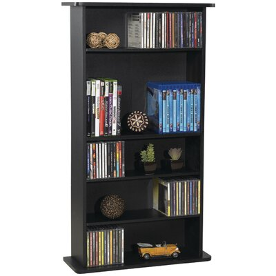 CD and DVD Multimedia Storage Rack