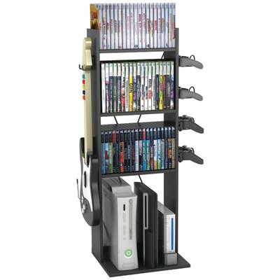 Game Central Multimedia Storage Rack