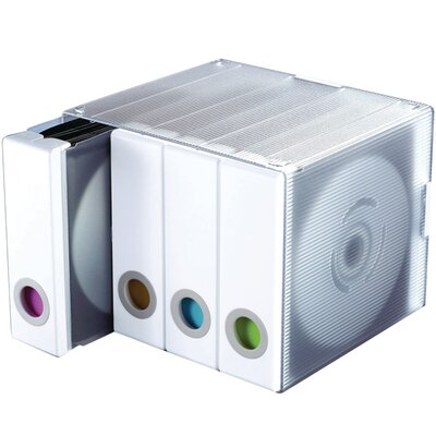 Multimedia Wall Mounted Tabletop Storage Color: White