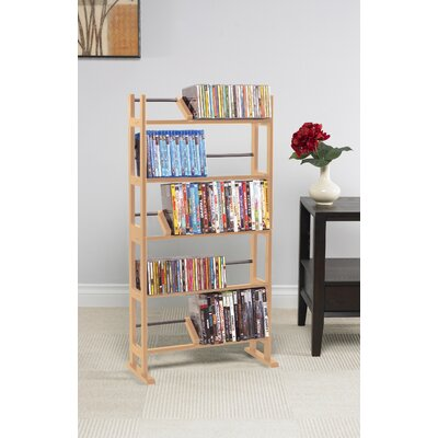 Multimedia Storage Rack I Color: Maple