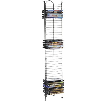 Disc Tower Multimedia Wire Rack REBR4652 43472834