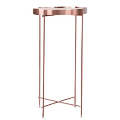 Farina End Table Color: Rose Gold