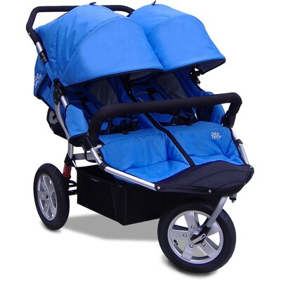 City X3 Double Swivel Stroller