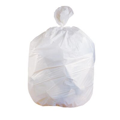 Jaguar Plastics Low-Density Can Liner 33-Gallon, 0.70 Mil in White at Sears.com