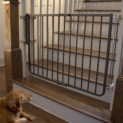 Metal D�cor Gate Color: Bronze