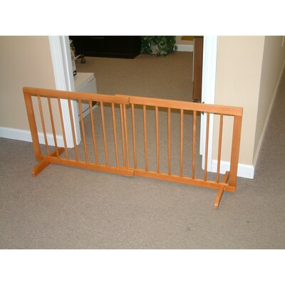 Step Over Pet Gate Finish: Medium Oak