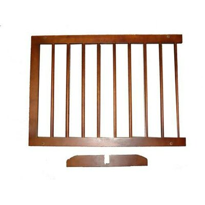 Pet Gates Extension Finish: Walnut