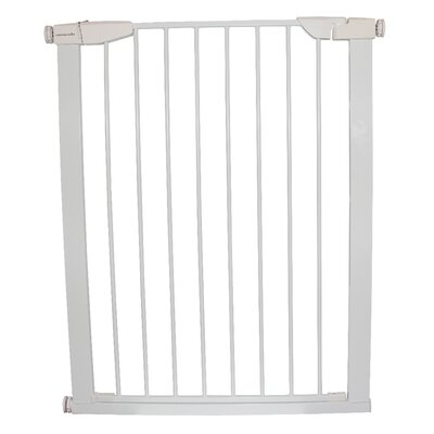 Extra Tall Premium Pressure Pet Gate Finish: White