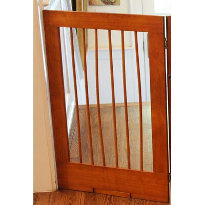 Pet Gate Finish: Oak