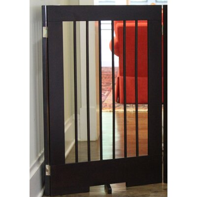 Pet Gate Finish: Walnut