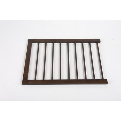 Extension for Step Over Gate Finish: Walnut
