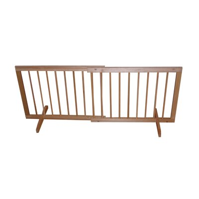 Step Over Pet Gate Finish: Walnut