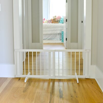Step Over Pet Gate Finish: White